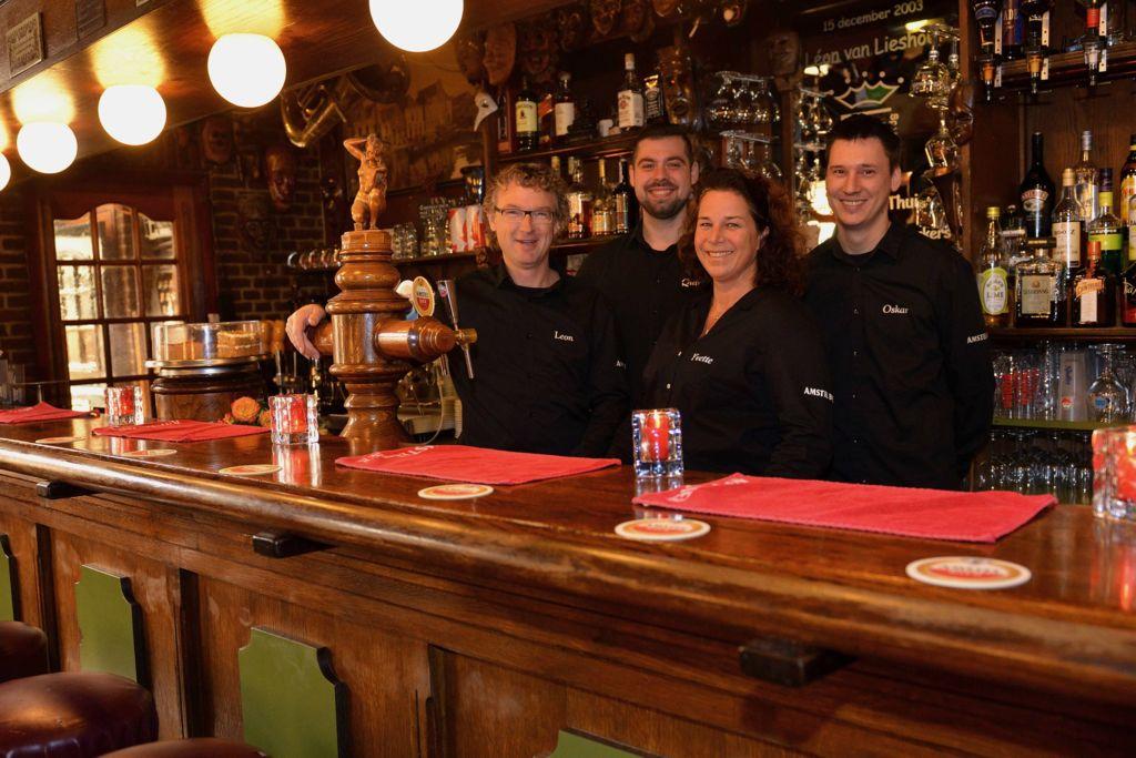 Het team van Café Spaarndam