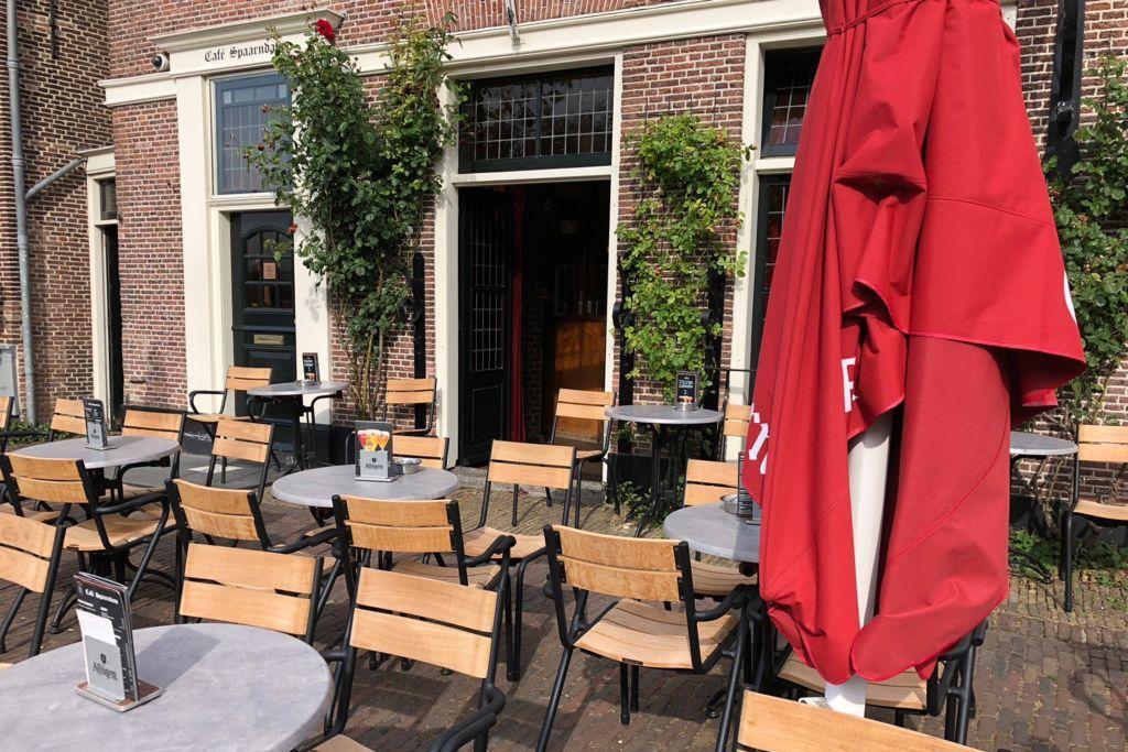 Terras van Café Spaarndam