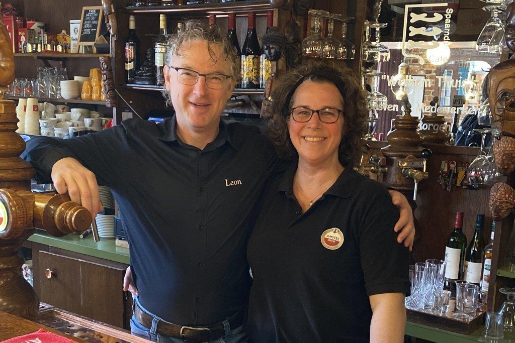 Yvette & Leon van Lieshout van Café Spaarndam