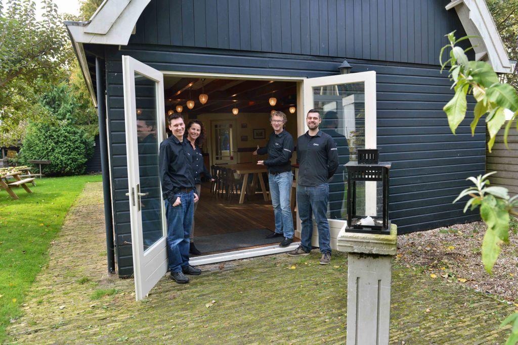 Het Atelier van Café Spaarndam